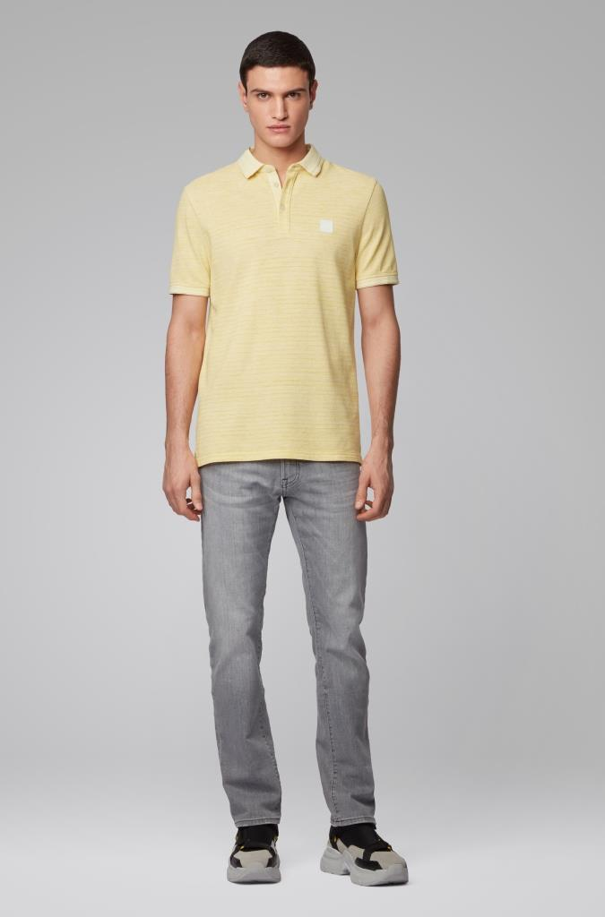 201 BOSS M CA M POLO 723 Medium Yellow