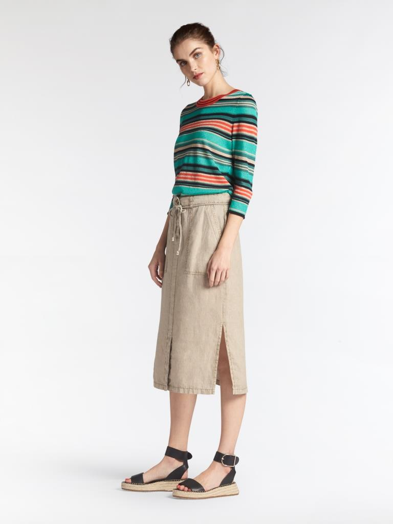 201 SANDWICH L L ROK 10079|Humus |Skirt Woven Casual Medium