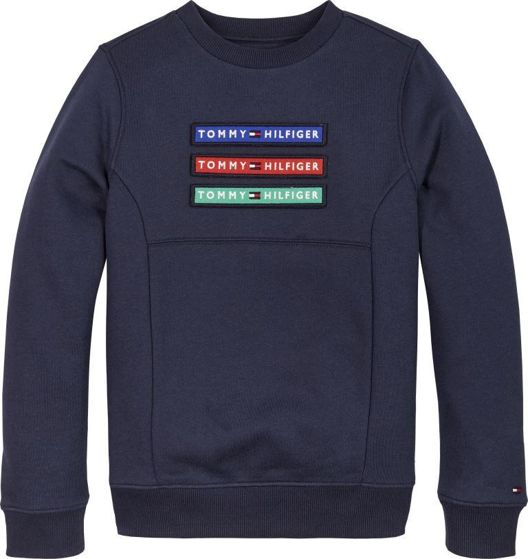202 TOMMY B B SWEAT NAVY