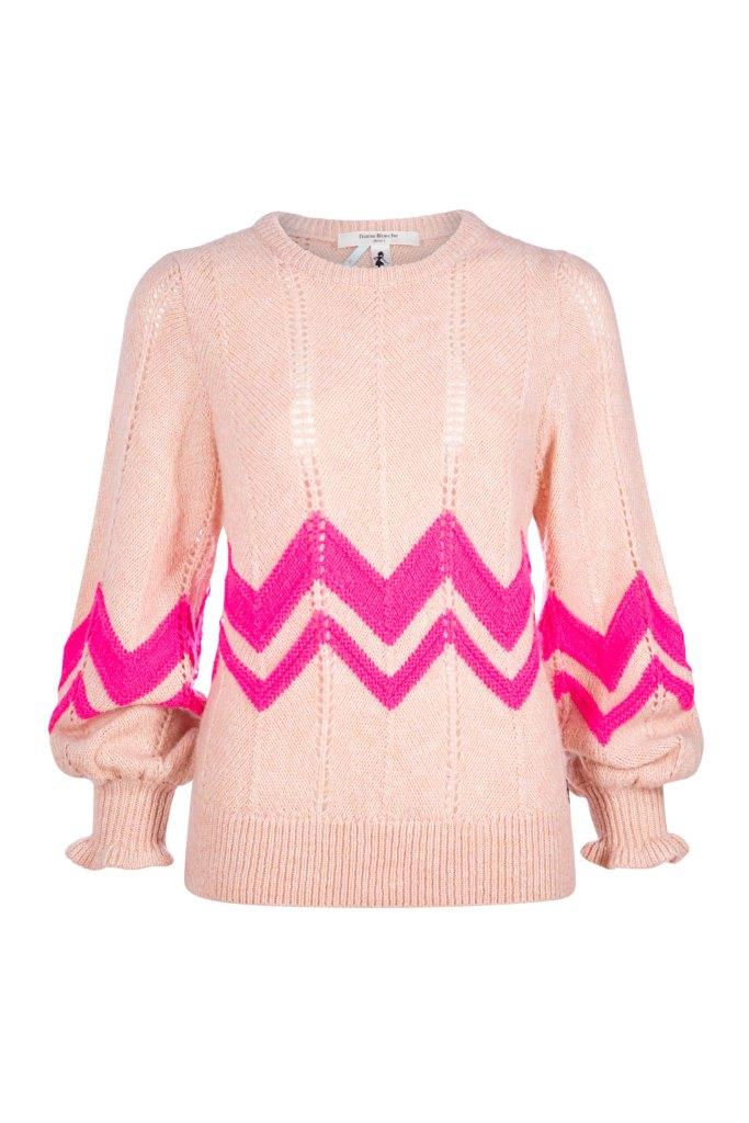 202 DAME BLANCHE L PULL ROSE