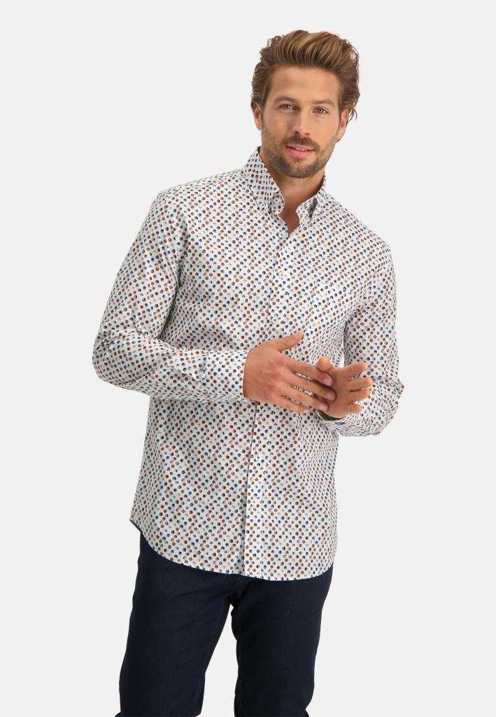 202 STATE OF ART M HEMD 2983-Shirt LS Printed Pop