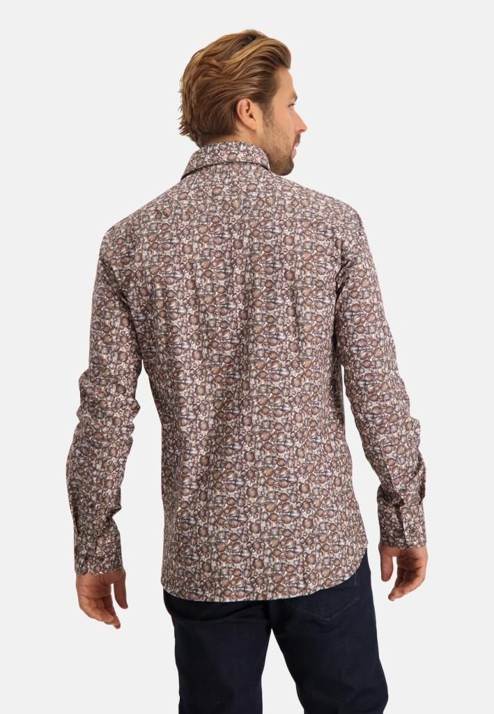 202 STATE OF ART M HEMD 2689-Shirt LS Printed Pop