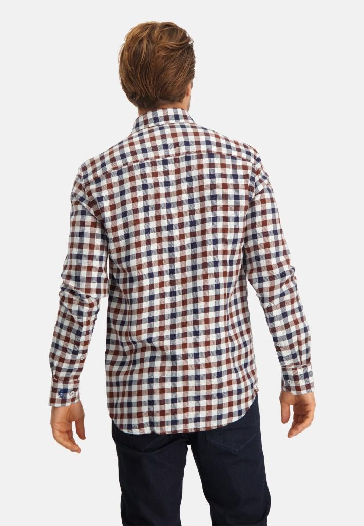 202 STATE OF ART M HEMD 5929-Shirt LS Y/D Checked
